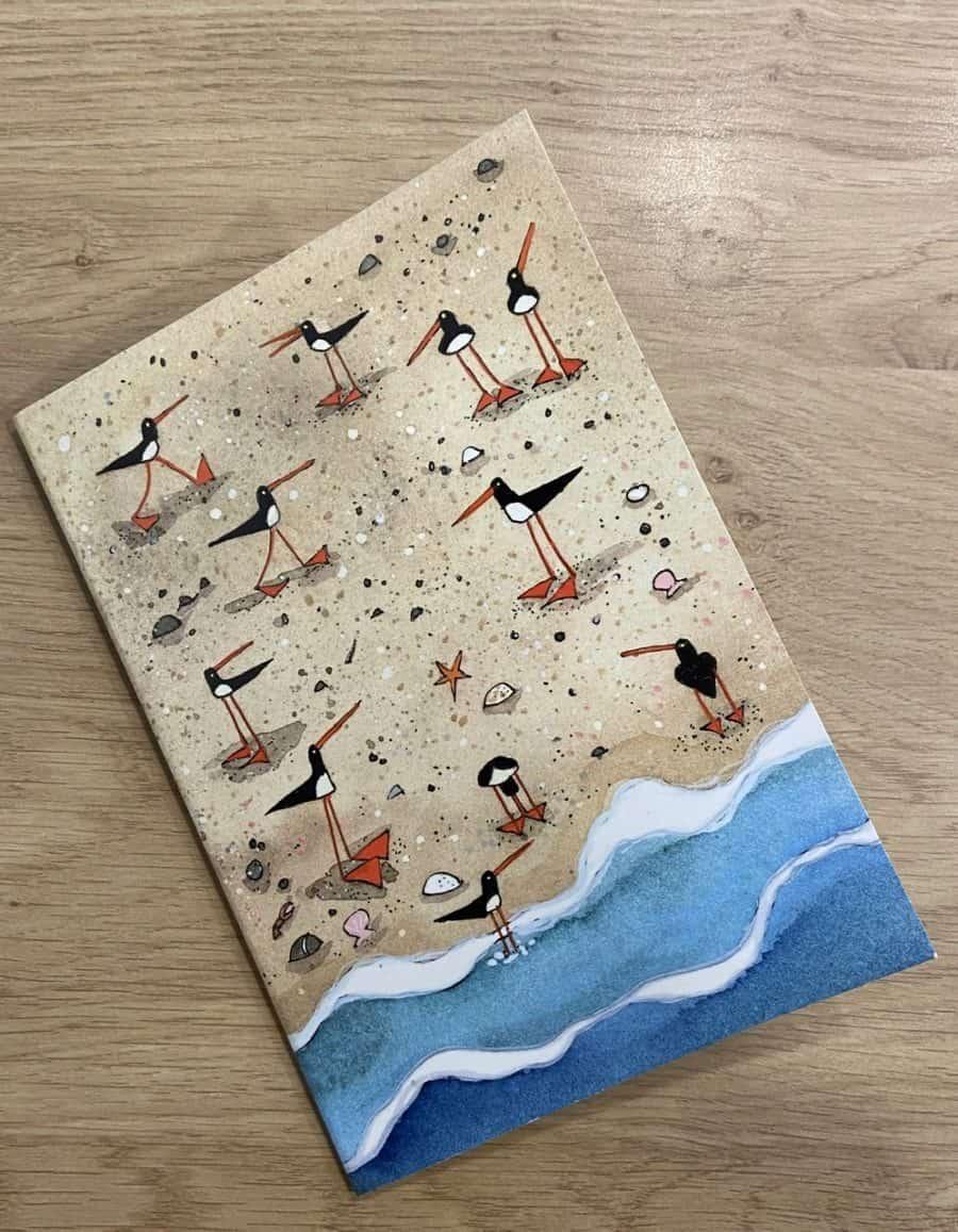 'Oystercatchers' Notebook by Nicola Dixon