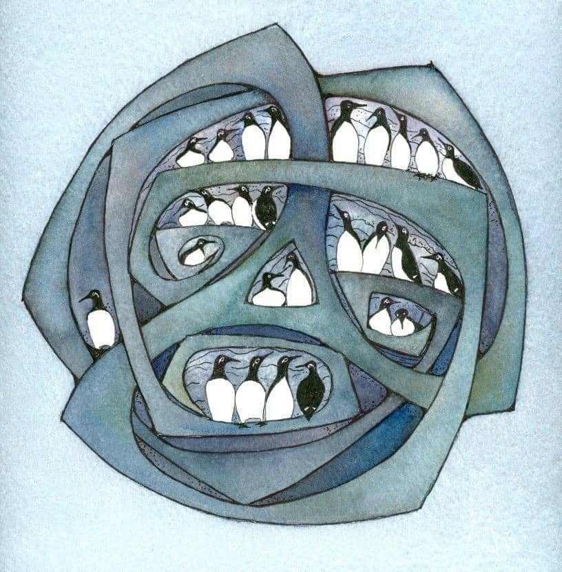 Compactness of Rock Limited Edition Print by Nicola Dixon