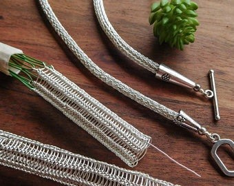 **SOLD OUT** Viking Wire Knitting Workshop for Adults