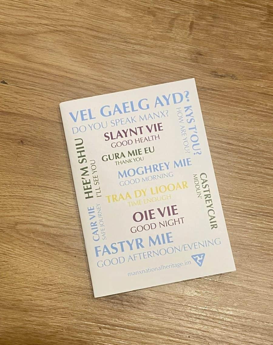 Vel Gaelg Ayd? Notebook