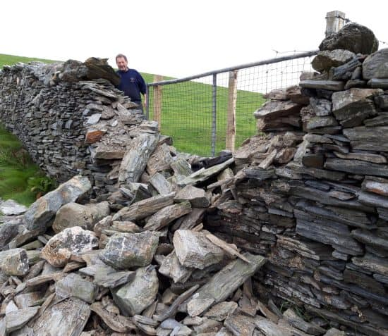 Keeping Traditional Skills Alive – Dry Stone Walling at the Sound