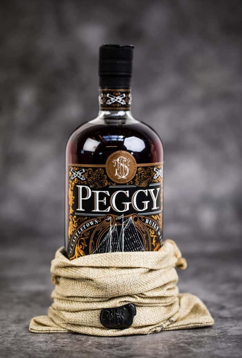 Peggy Rum with Bag