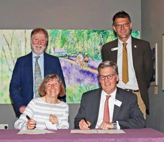 Another win for Manx biodiversity as Manx National Heritage and Manx Wildlife Trust sign Memorandum of Understanding