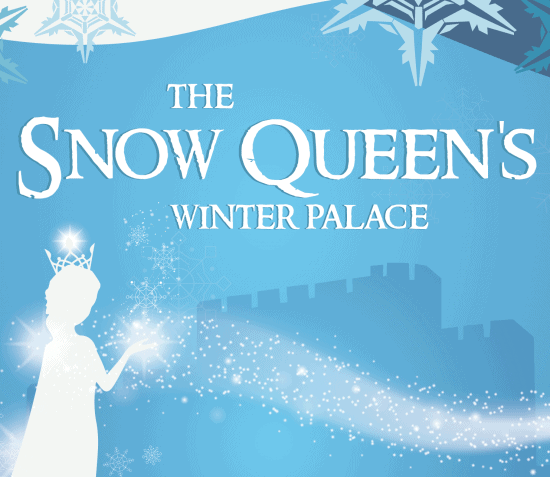 The Snow Queen's Winter Palace at Castle Rushen