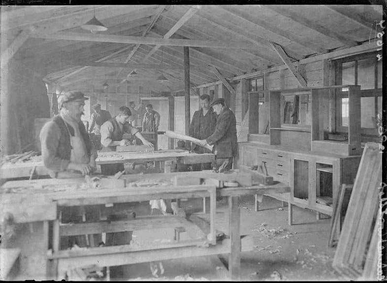 First World War Internees, Furniture-Making Workshop
