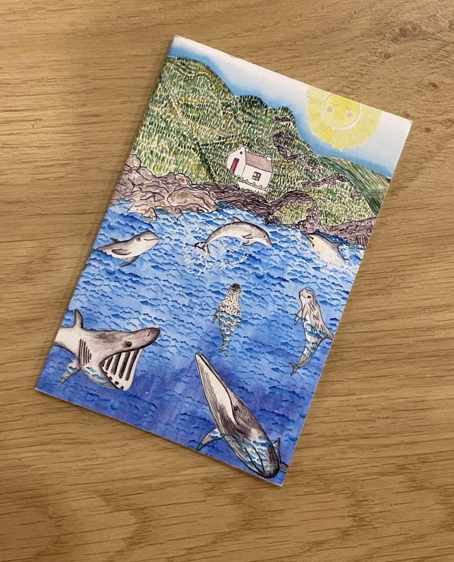 Niarbyl Notebook by Alice Rose Fayle Design