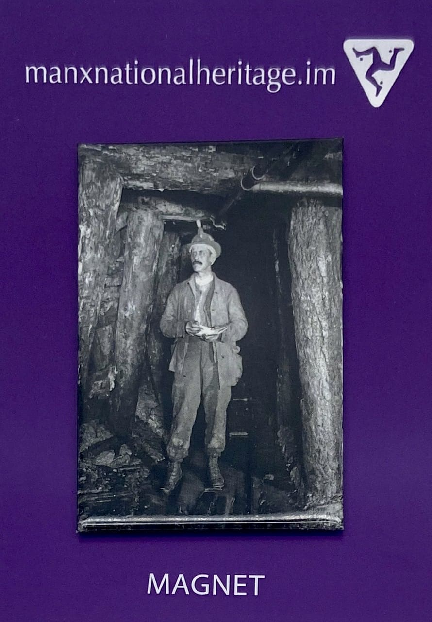 Laxey Mines Inspector Magnet