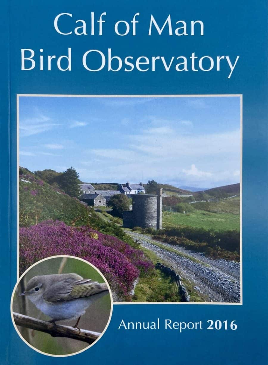 Calf of Man Bird Observatory - Annual Report 2016