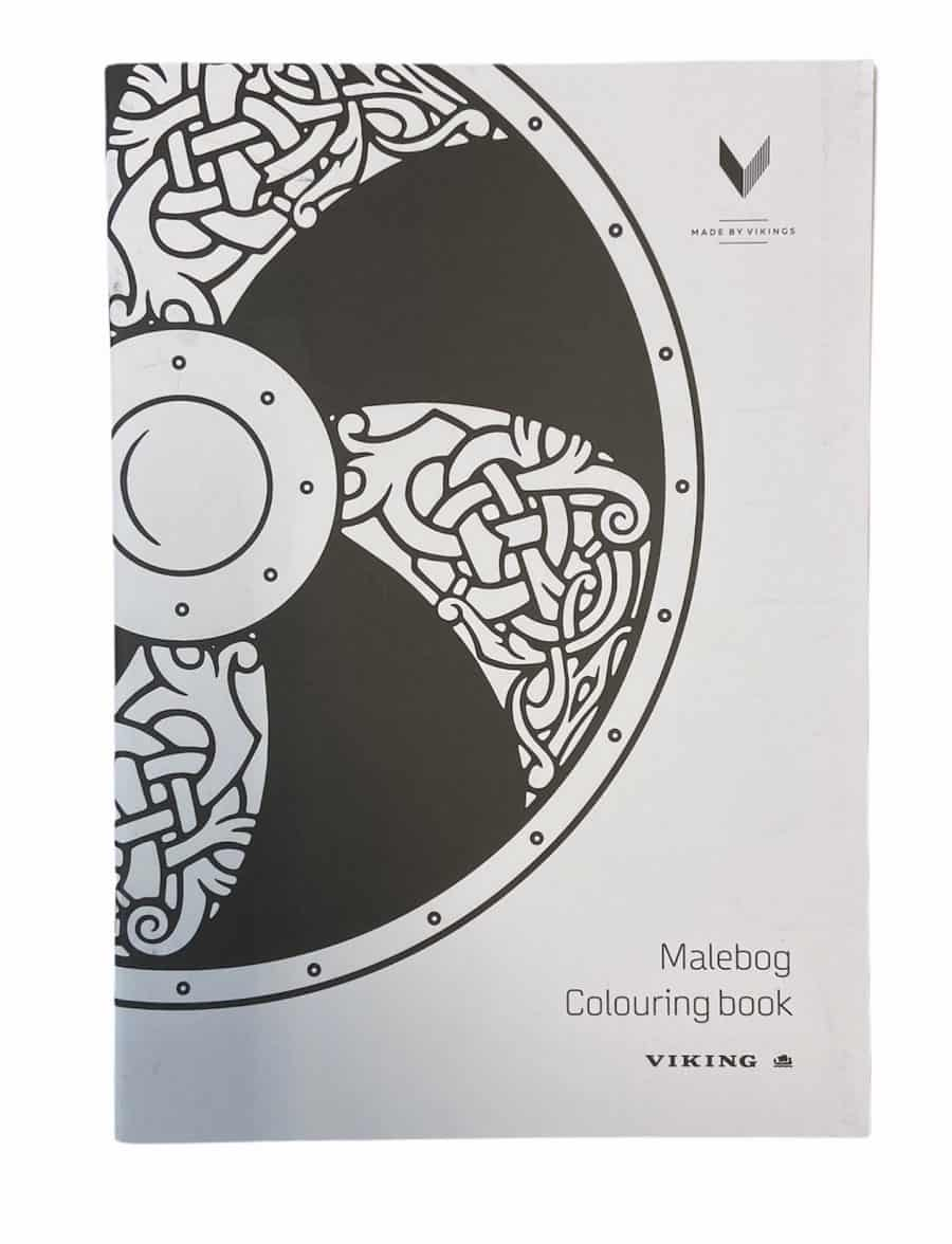 Viking Kolibri Colouring Book