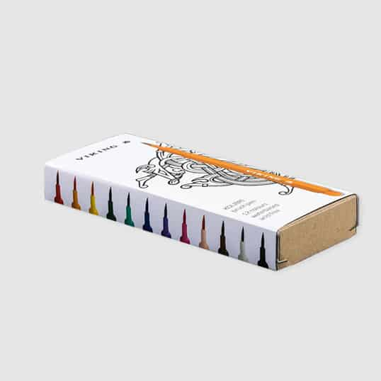Viking Kolibri Brush Pen Set of 12