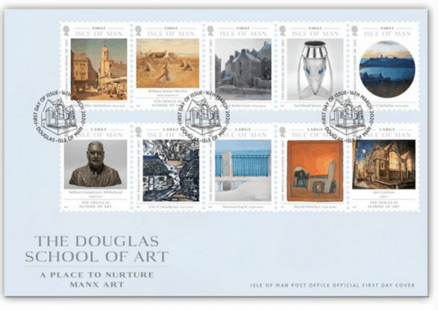 Douglas School of Art Stamp FDC