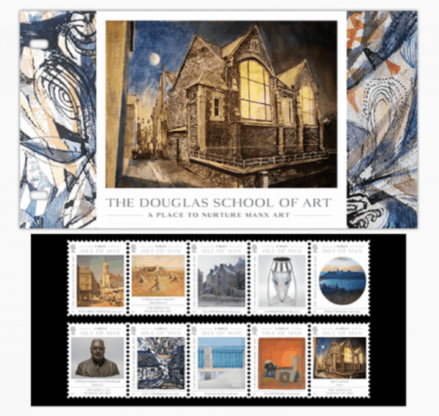 Douglas School of Art Stamp Presentation