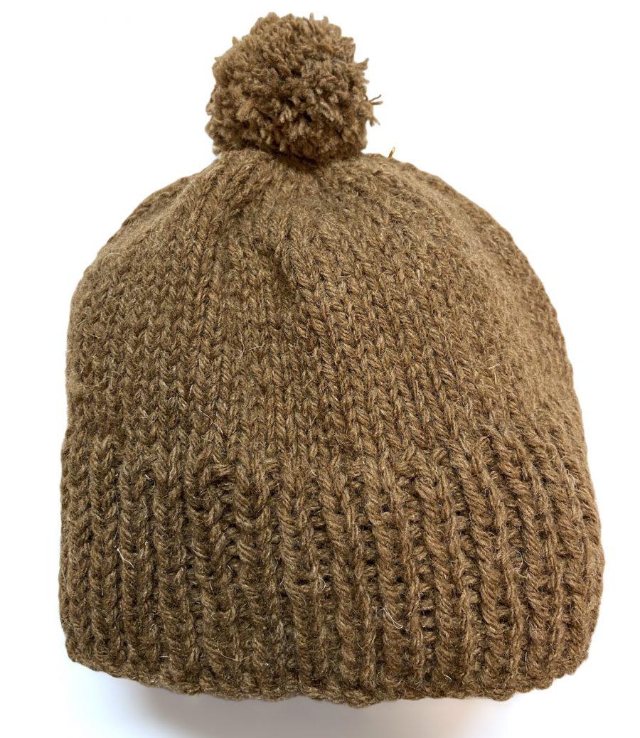 Manx Loghtan Bobble Hat by Janet Taylor