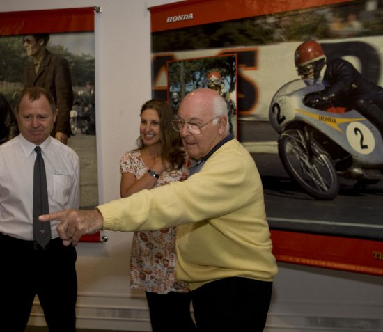 Manx National Heritage Tribute to Murray Walker OBE