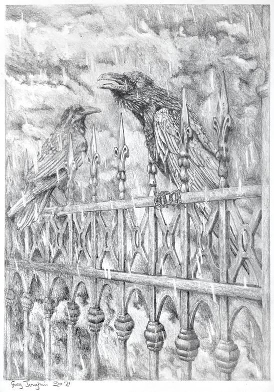 71 two ravens - Boundaries Exhibition 2021