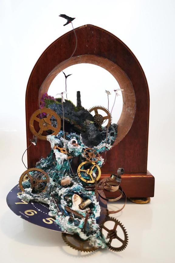83 Never Late - Eve Adams - Boundaries Exhibition 2021