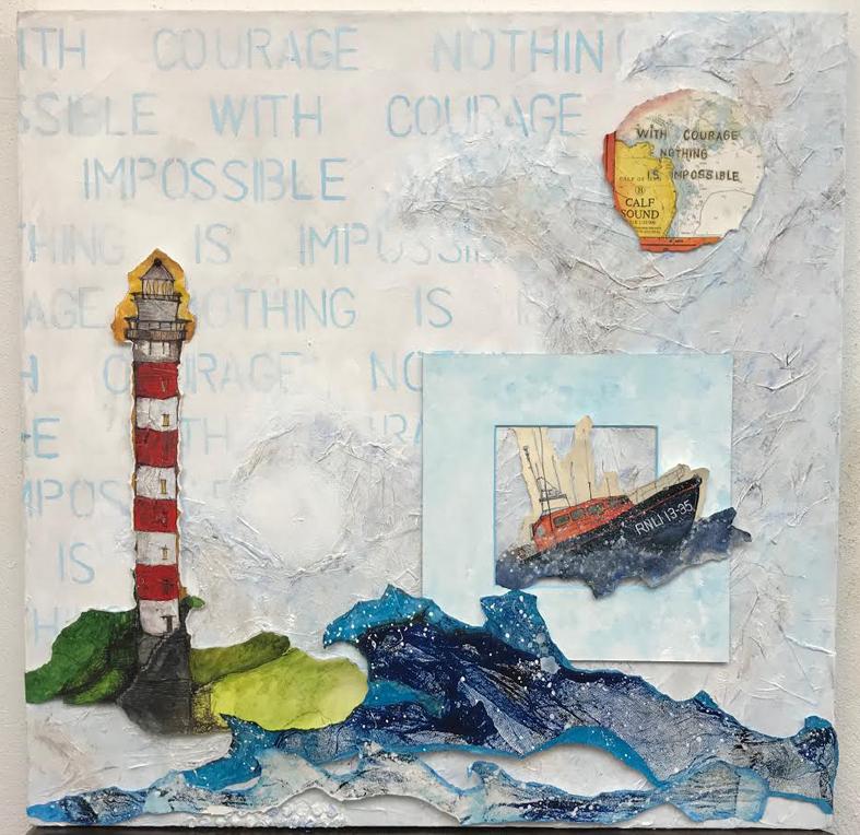 86 WithCourageNothingIsImpossible - Boundaries Exhibition 2021