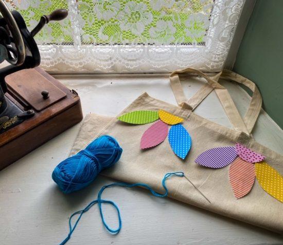 Cregneash Appliqué Tote Bag Workshop