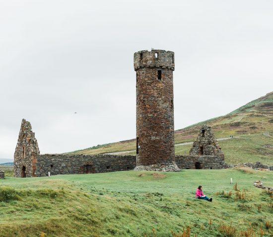 A Guided Tour of Peel Castle: Their lives within