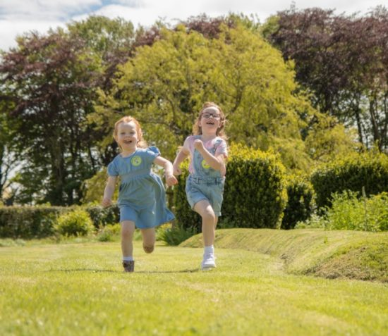 Big Adventures for Little People at Rushen Abbey
