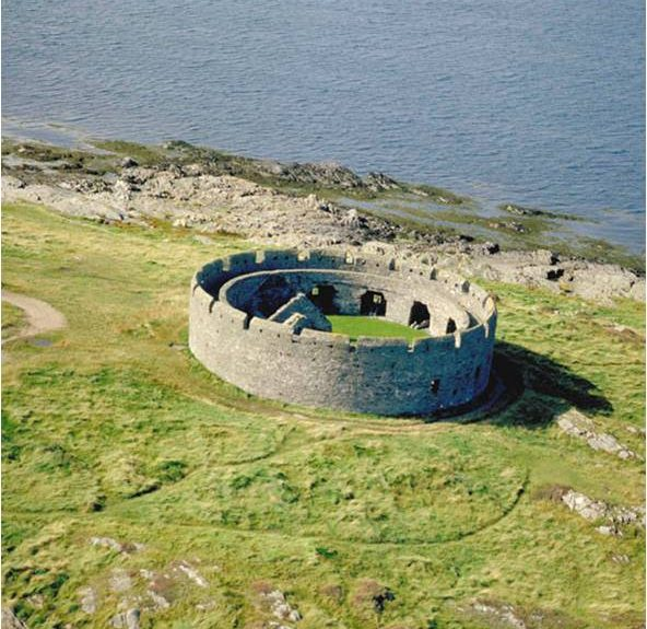 Derby Fort, St. Michaels Isle