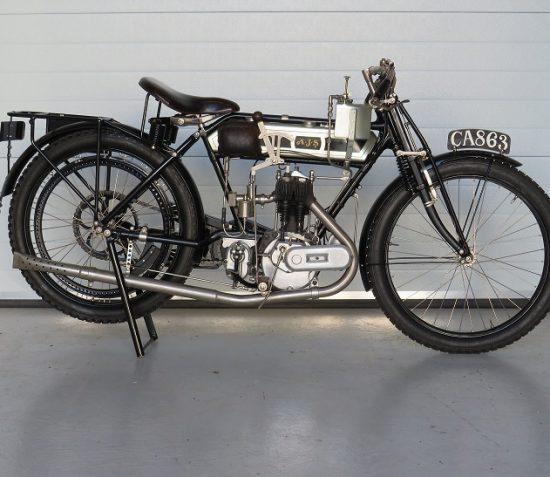 MANX NATIONAL HERITAGE SECURE MOTORCYCLE RIDDEN BY IOM TT PIONEER