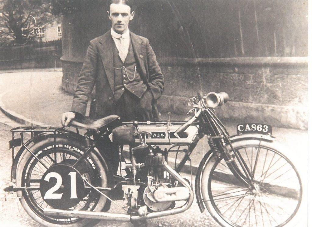 Billy Jones 1913 AJS