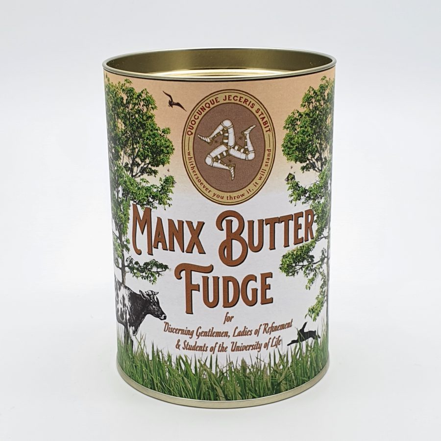 Manx Buttered Fudge