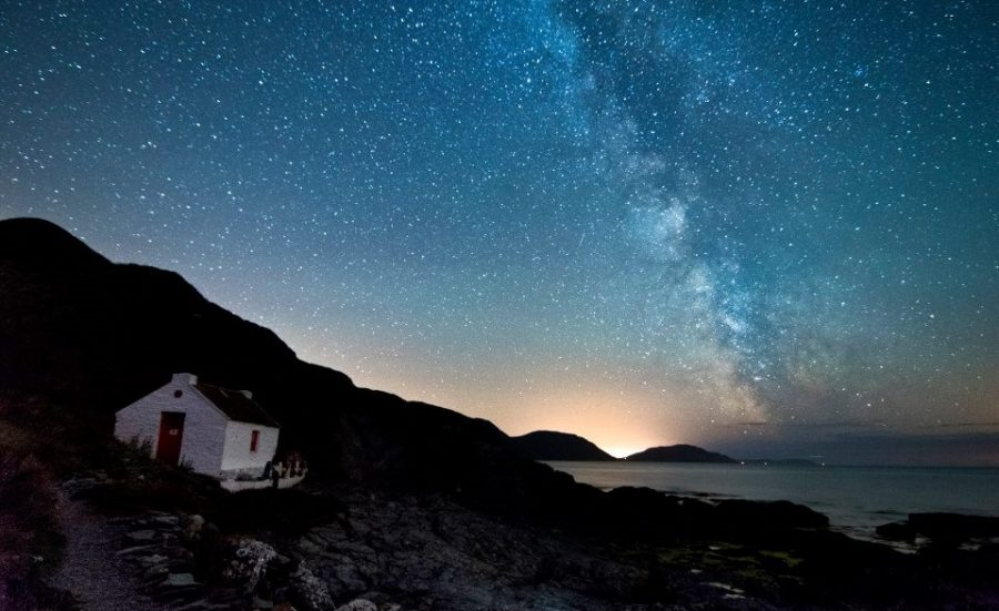 Starry night at Niarbyl